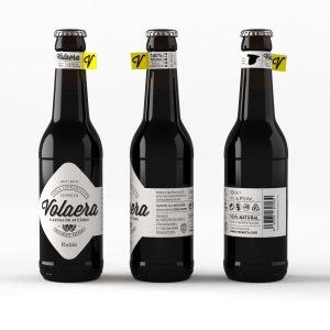 Cerveza artesanal «Volaera» Rubia 12 Unidades 33CL tercio