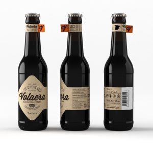Cerveza artesanal «Volaera» Tostada 12 Unidades 33CL Tercio