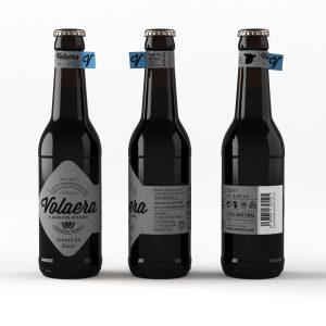 Cerveza artesanal «Volaera» American Stout 12 U 33CL tercio