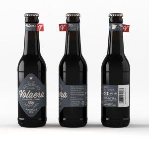 Cerveza artesanal «Volaera» American IPA 12 U 33cl tercio