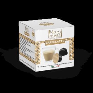 Cápsulas café con leche. Compatible con Dolce Gusto.