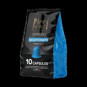 Capsulas café descafeinado. Compatible con Nespresso