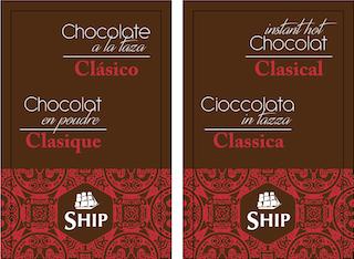 Chocolate a la taza Clásico, caja de 10 Unidades