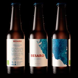 Cerveza artesanal Besaro «Pale Ale». 12unidades 33Cl Tercio