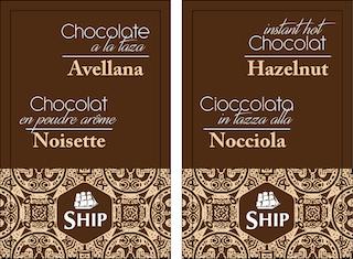 Chocolate a la taza «Avellana». Caja de 10 Unidades