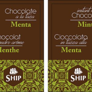 Chocolate a la taza «Menta» Caja de 10 Unidades