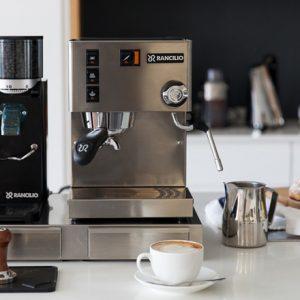 Máquina Café Rancilio Silvia y Molino Rocky