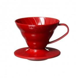 Hario V60 Rojo una taza. Excelente método infusión