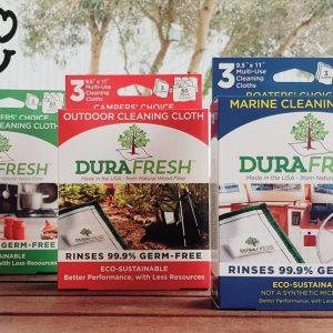 Paño ecológico biodegradable, Durafresh. 3 Unidades Fabricado en EEUU