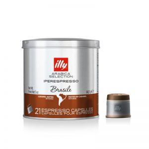 illy Cápsulas café Iperespresso monoorigen Brasil 21 cápsulas