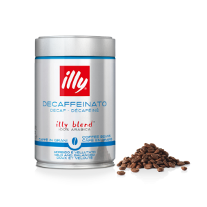 Illy 250 gr grano Descafeinado tueste normal