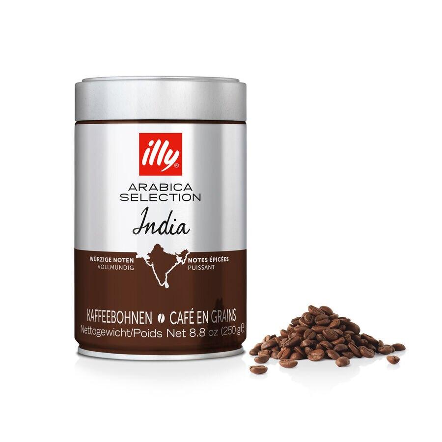 Illy 250 gr grano monoorigen India